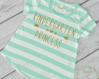 First Day of School Shirt Kindergarten Shirt 1st Day of Kindergarten Shirt Pre K Shirt Back to School Outfit 238