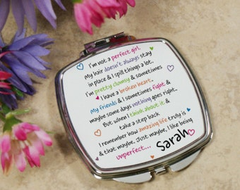 Personalized Unperfect Compact Mirror