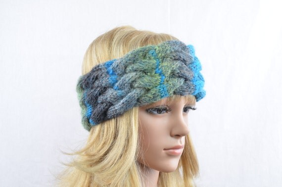 Nordic Headband Knitting Pattern : Knitted headband Fanny in Nordic style perfect by ...