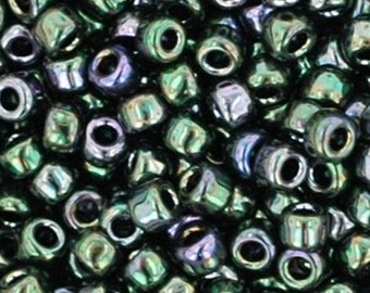 Toho 11/0 Metallic Moss 11-89 Tube