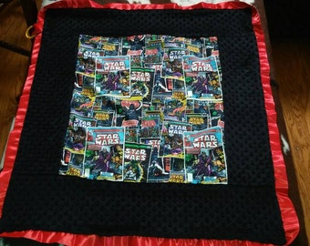"Star Wars baby blanket. Ready to ship! 34""X48"" summer sale"