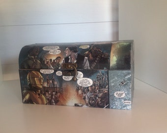 Star Wars comic box