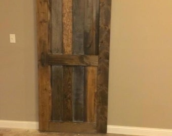 Custom barn door for Mark