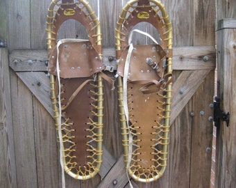 REDUCED by 10.00 again, Sherpa Snow Claw Snow Shoes, Made in Chicago, USA,  1990S VERSION, all parts on shoes.