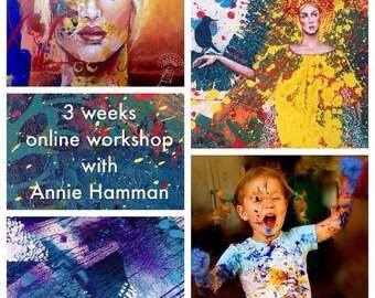 Fearless Expression Online Art Workshop