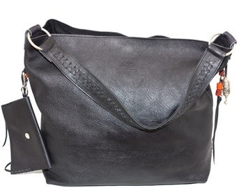 Design Tote leather bag