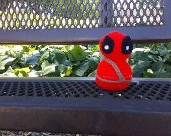 Crochet Deadpool Amigurumi
