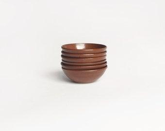 Vintage Stoneware Bowls Set of 6