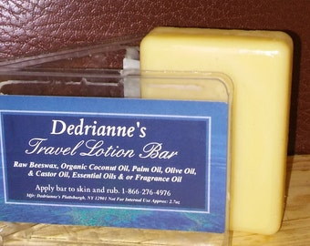Rainbow Scents! Custom Travel Lotion Bar You Pick and We Ship!