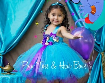 Princess Jasmine Dress- Princess jasmine costume- Princess jasmine tutu dress