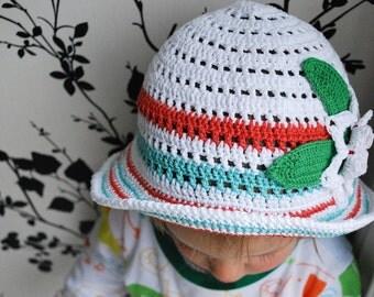 South of France - girl summer hat