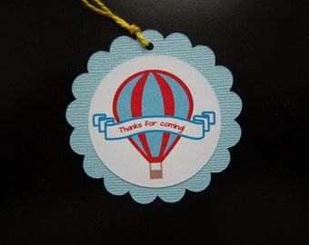 Hot Air Balloon Favor/Gift Tag
