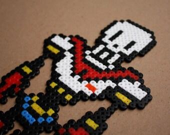 Undertale Papyrus Perler Hama Bead Sprite Pixel Art