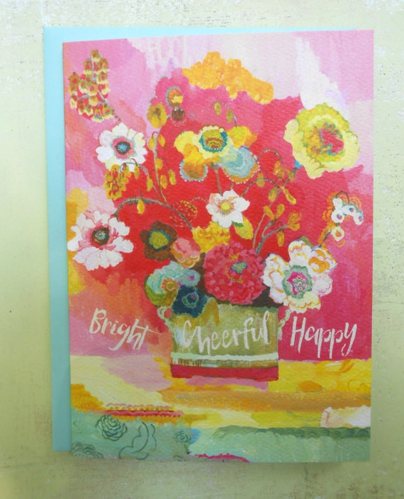 Lime Glory greeting card by Kimberly Hodges, any occasion greeting card,