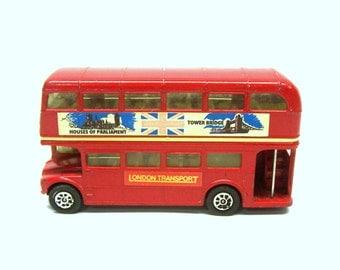 London Transport Double Decker Routemaster H. Seener Ltd. Made in Great Britain