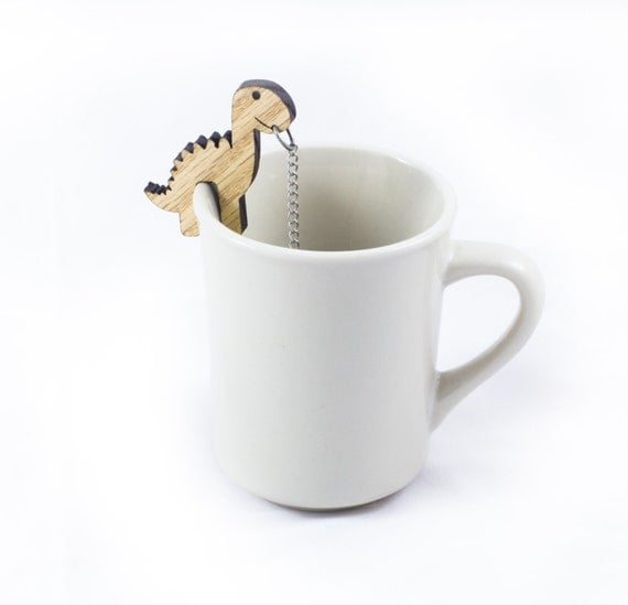 Tea Buddy Rawr Tea Infuser Gift Kitchen By TheOtherLabs On Etsy