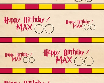 Harry Potter Wrapping Paper - Personalized Harry Potter Wrapping Paper - Printed & Shipped