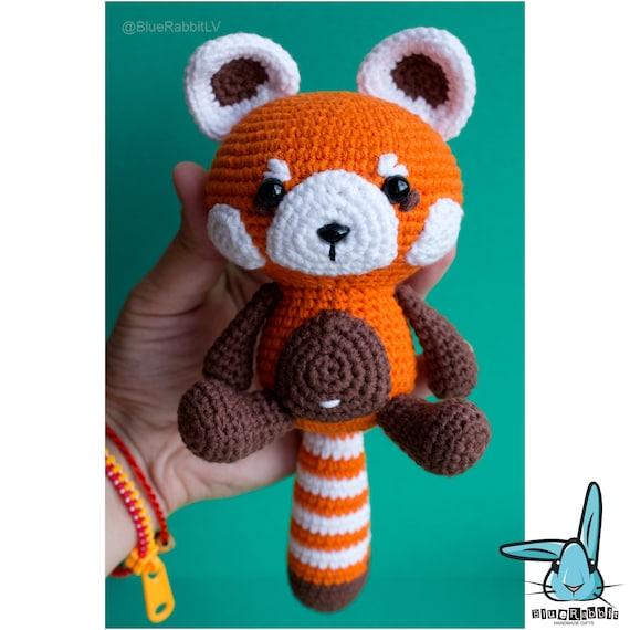 Amigurumi Free Patterns Pokemon : Red panda amigurumi crochet pattern. PDF file. by BlueRabbitLV