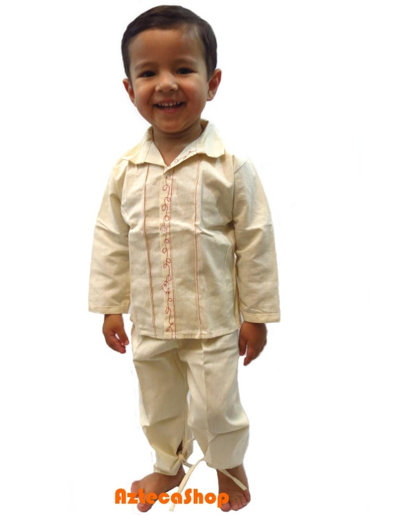 Mexican Peasant Boy Shirts And Pants Age 4 By AztecaShop ...