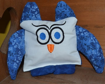 In the Hoop Owl Squishy Square, ith Squishy Square owl, Owl stuffy, In the Hoop Owl, owl Stuffy, SG2TP Squishy Squares
