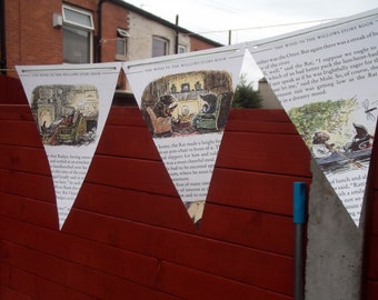 Hand Made Wind in The Willows Bunting