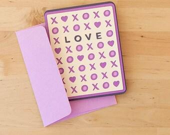Love XOXO Card