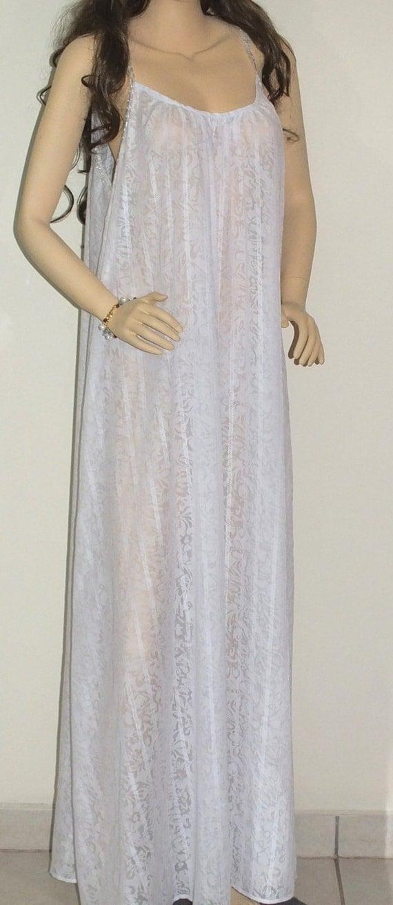 100 Cotton White Bridal Sleepwear L Xl Xxl Bridal Gown