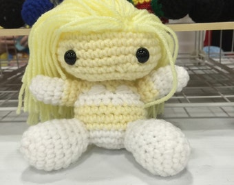 Emma Frost - Marvel Comic Crocheted Doll