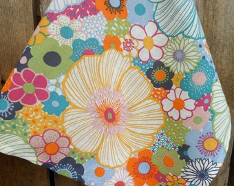 Flower Design Towel Flower Towel Floral Towel Kitchen Towel Nature Towel Gift For Mother Housewarming Gift Linen Towel Tea Towel Meadow