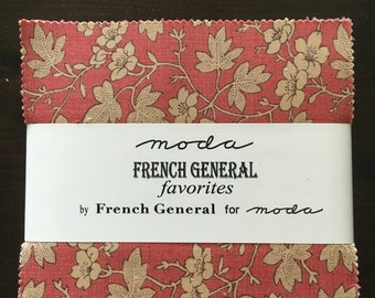 French General Charm Pack
