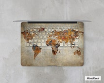 MacBook Pro decal keyboard sticker  Map cover skin (Choose the right version)