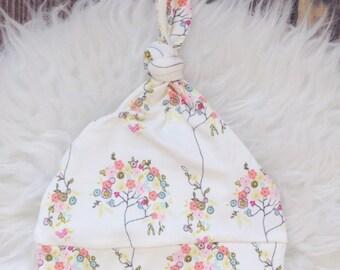 Flower newborn hat/Floral Newborn Hat/Newborn Hat/Newborn Hat/Infant Hat/ Newborn Hat/Baby Hat/ Newborn Hat/baby hat/infant hat