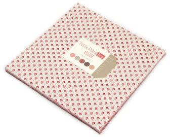 """Petite Prints Deux Layer Cake by French General for Moda, 42 - 10"""" squares"""
