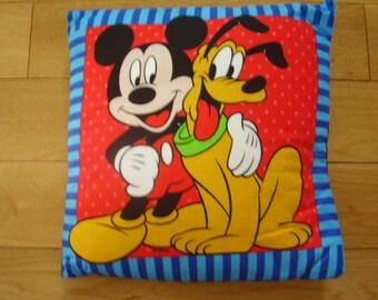 Handmade Mickey Mouse Cushion Cover