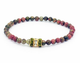 Mystic Epidote Bracelet