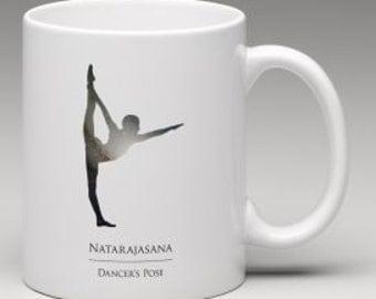 Dancer {Natarajasana} // Coffee Mug