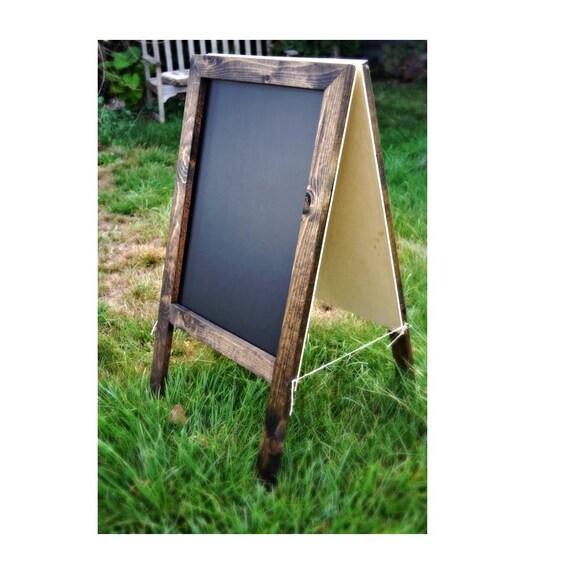 rustic a frame sandwich chalkboard 36x20 sandwich board. Black Bedroom Furniture Sets. Home Design Ideas