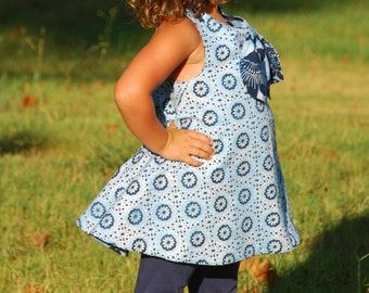 Lilly Belle Reversible Pinafore (Available Sizes 2T to 7-8)