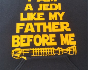 Jedi hoodie