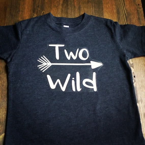 Boys 2nd Birthday Shirt 2nd Birthday Shirt Boy Two Wild