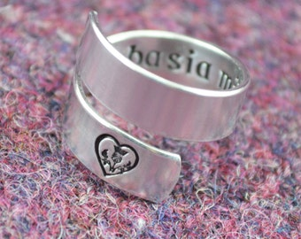 Da Mi Basia Mille Wrap Ring - Celtic Jewelry