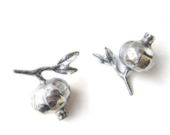 Greek Aluminium pomegranate symbol of luck fertility and aundance , Greek orthodox symbol