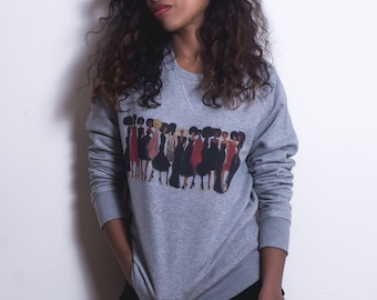 "Sweatshirt ""Shades of Excellence"" by Nikisgroove"