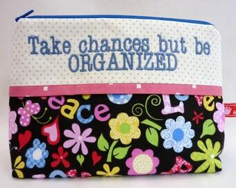 Cosmetic Bag, Tkae chanes but be ORGANIZED
