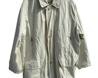 Vintage Bugatti men jacket coat beige
