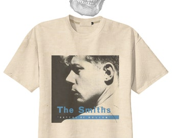 The Smiths Morrissey Punk Rock Organic Cotton Tee Tshirt Vintage Look S M L
