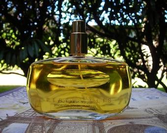 vintage 1985 tester bottle of Perry Ellis for women 1.7 oz parfum spray. Perfume.