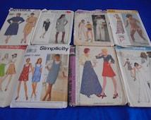 U Pick Sewing Patterns  Vintage Dress  Shirtdress Skirt Swimsuit Jiffy Gunne Sax