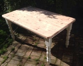 SOLD Six seater kitchen dining table