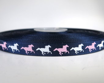 "5 yards of 3/8 inch ""Horse"" grosgrain ribbon"